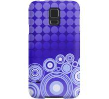 Concentrics - Blue [iPhone/iPod case] Samsung Galaxy Case/Skin
