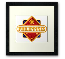 Philippine Diamond Framed Print