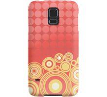 Concentrics - Red|Orange [iPhone/iPod case] Samsung Galaxy Case/Skin