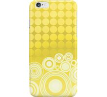 Concentrics - Lemon [iPhone / iPod case] iPhone Case/Skin