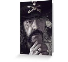 Lemmy Kilmister Greeting Card