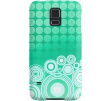 Concentrics - Mint [iPhone/iPod case] Samsung Galaxy Case/Skin