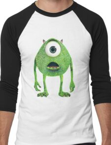 Wazowski Men's Baseball ¾ T-Shirt