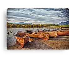 Ladies Of The Lake Canvas Print