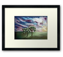 A Sunrise for two friends Framed Print