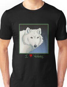 I ♥ Wolves Unisex T-Shirt