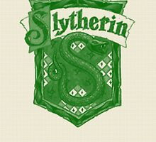 Slytherin House by Emmybenny