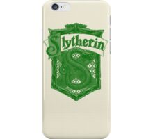 Slytherin House iPhone Case/Skin
