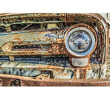 '56 Ford F100 Oxide Special Photographic Print
