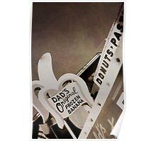 Dad's Original Frozen Banana, Balboa Island, CA Poster