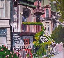Rue Tupper, Montreal by Dan Wilcox