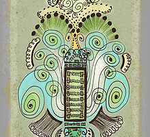 Belle Epoque Greeting Cards by Janet Antepara