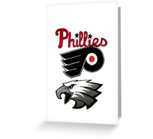 philly Greeting Card