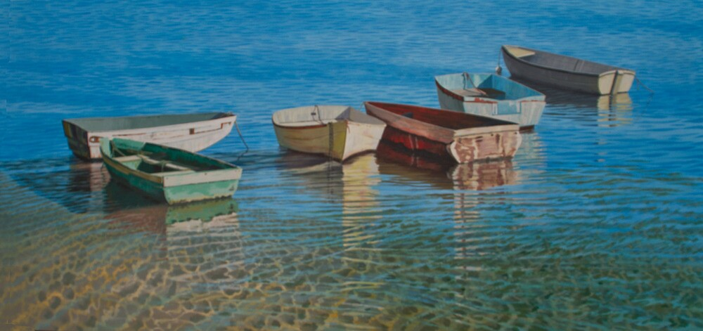 In the shallows by Freda Surgenor
