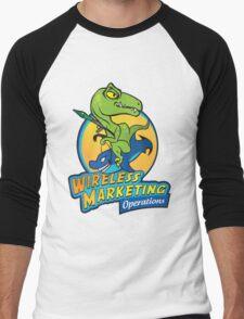 Wireless Marketing Ops Men's Baseball ¾ T-Shirt