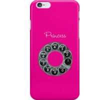 Hot Pink Rotary Phone iPhone Case/Skin