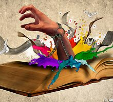 Books are Uniquely portable Magic by Vikramaditya Bagri