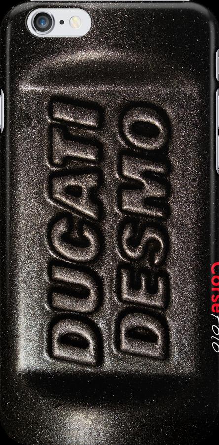 Ducati Desmo iPhone Case by corsefoto