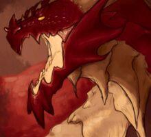 Fire Dragon Sticker