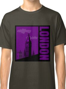 Minimalist London Big Ben - Comic Art Classic T-Shirt