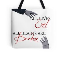 The Reichenbach Fall - Sherlock BBC Tote Bag