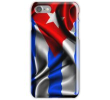 Cuba Flag Drop iPhone Case/Skin