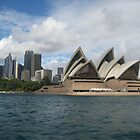 Opera House - Sydney Harbour NSW Australia by Sandy1949