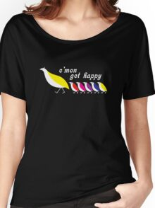 C'mon Get Happy Women's Relaxed Fit T-Shirt