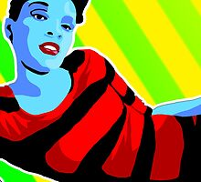 Vee's Pop Art: Amanda x2 by Vestque