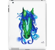 Horse Sea Pen and Ink Drawing iPad Case/Skin