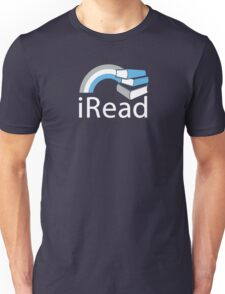i Read   Reading Slogan for Book Lovers T-Shirt