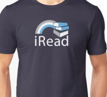i Read | Reading Slogan for Book Lovers Unisex T-Shirt