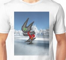 Cat IceSkating Unisex T-Shirt