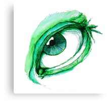 Eye See You Pen and Ink Drawing Canvas Print