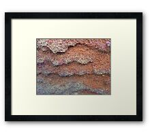 Rock Formation, Parsley Bay, 5 Framed Print
