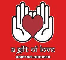 A Gift Of Love dot Info merch jan 2012 text One Piece - Short Sleeve