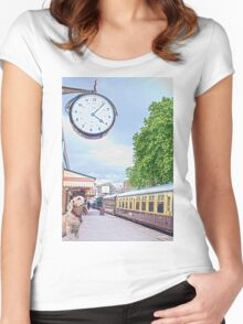 Waiting Time Women's Fitted Scoop T-Shirt