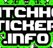 Glitch Hop Stickers Dot Info Official Merch Sticker