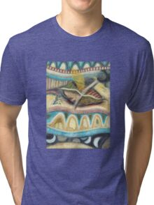 Tropical Fusions (Panel 4 of 4) Tri-blend T-Shirt