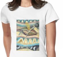 Tropical Fusions (Panel 4 of 4) Womens Fitted T-Shirt