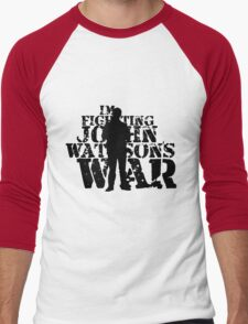 I'm Fighting John Watson's War V.3 Men's Baseball ¾ T-Shirt