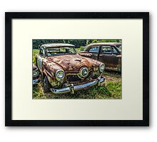 Optimized Oxidation Framed Print