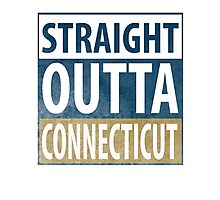 Straight Outta Connecticut Photographic Print