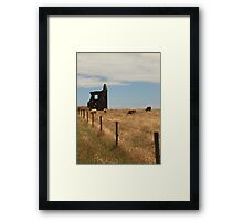 Cows, Crops & Corruption Framed Print