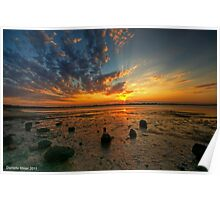 Barwon Heads Sunset HDR Poster
