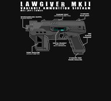 Lawgiver MKII Schematic Vector Unisex T-Shirt