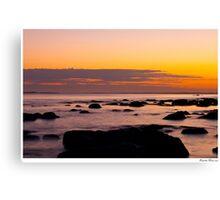 Altona Sunset Canvas Print