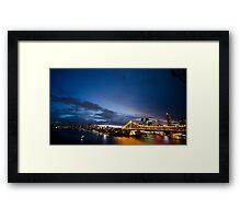 Landscape City Framed Print