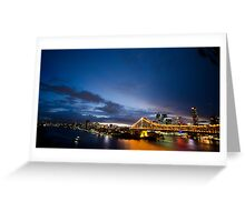 Landscape City Greeting Card