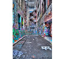 Hoiser Lane 2 HDR Photographic Print